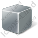 Brick Grey Icon, PNG/ICO, 128x128