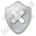 Close Shield Icon