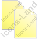 Copy Yellow Icon