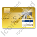 Credit Card Visa 2 Icon, PNG/ICO, 128x128