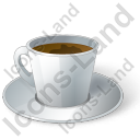 Cup Coffee Icon, PNG/ICO, 128x128