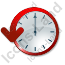 Clock Delay Icon, PNG/ICO, 128x128