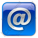 EMail Box Blue Icon