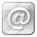 EMail Box Grey Icon