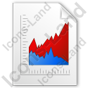 Graph Area Icon