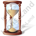 Hourglass Icon, PNG/ICO, 128x128