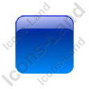 Indicator Box Blue Off Icon, PNG/ICO, 128x128