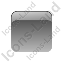 Indicator Box Grey Off Icon, PNG/ICO, 128x128