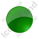 Indicator Round Green Off Icon