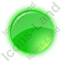 Indicator Round Green On Icon
