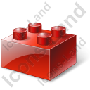 Lego Red Icon