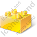 Lego Yellow Icon