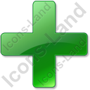 Plus Green Icon