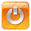 Power Box Orange Icon