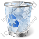 Recycle Bin 1 Full Icon