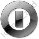 Shutdown Black Icon, PNG/ICO, 128x128
