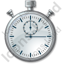 Stopwatch 1 Icon, PNG/ICO, 128x128