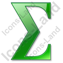 Summation Green Icon