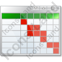 Table Gantt Chart Icon