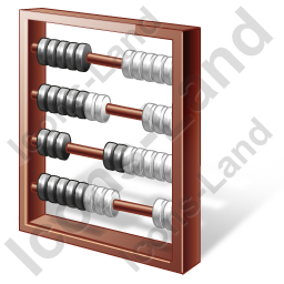 Abacus Brown Icon