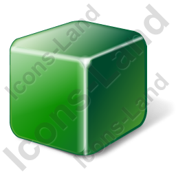 Brick Green Icon, PNG/ICO, 256x256