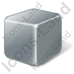 Brick Grey Icon, PNG/ICO, 256x256