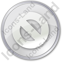 Cancel Circle Grey Icon, PNG/ICO, 256x256