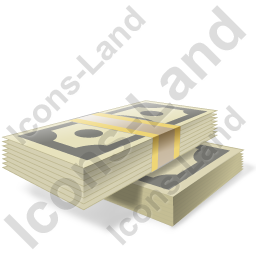 Cash Stack Icon