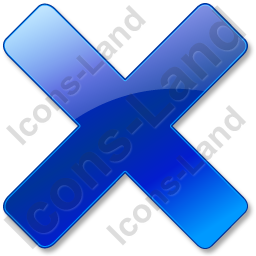 Close Blue Icon