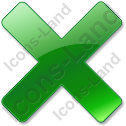 Close Green Icon