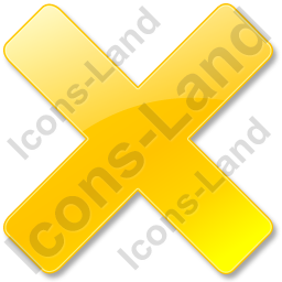 Close Yellow Icon