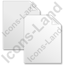 Copy Grey Icon, PNG/ICO, 256x256