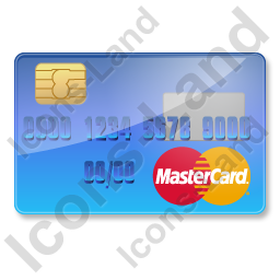 Credit Card MasterCard 1 Icon, PNG/ICO, 256x256