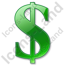 Dollar Green Icon
