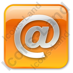 EMail Box Orange Icon