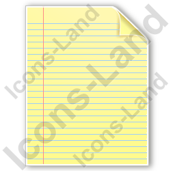 File Document Icon, PNG/ICO, 256x256