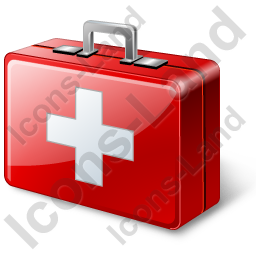 First Aid Kit Icon, PNG/ICO, 256x256
