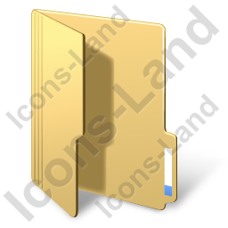 Folder Opened Yellow Icon