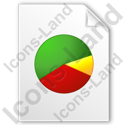 Graph Pie 4 Icon, PNG/ICO, 256x256