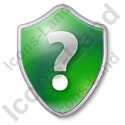 Help Shield Green Icon
