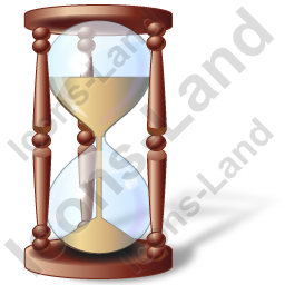 Hourglass Icon, PNG/ICO, 256x256