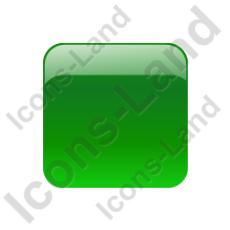 Indicator Box Green Off Icon