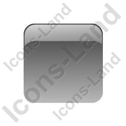 Indicator Box Grey Off Icon, PNG/ICO, 256x256