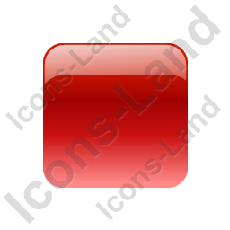 Indicator Box Red Off Icon