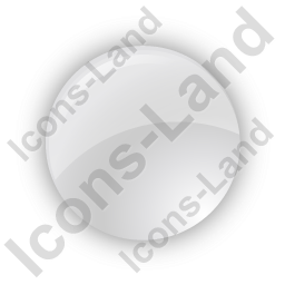 Indicator Round Grey On Icon, PNG/ICO, 256x256