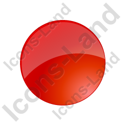 Indicator Round Red Off Icon