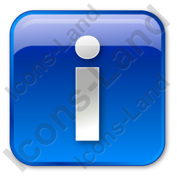 Info Box Blue Icon