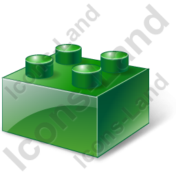 Lego Green Icon