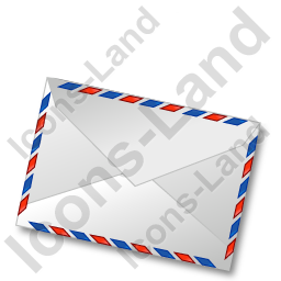 Mail 1 Closed Icon, PNG/ICO, 256x256