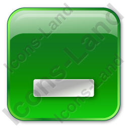 Minimize Box Green Icon